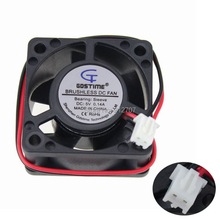 10PCS Gdstime DC XH2.54-2Pin 4020 40mm 1.57inch 5V 40 x 20mm Ventilation Cooling Fan