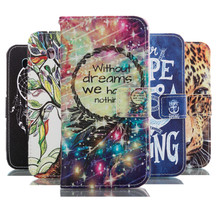Leather Pu Flip Phone cases For Samsung Galaxy S3 mini Case Stand Holder Cover Cases With Card Slot For samsung S3 mini i8190(China)