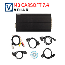 Newest MB Carsoft 7.4 Multiplexer ECU Chip Tunning MCU controlled Interface for Mercedes Benz Carsoft 7.4 Free shipping