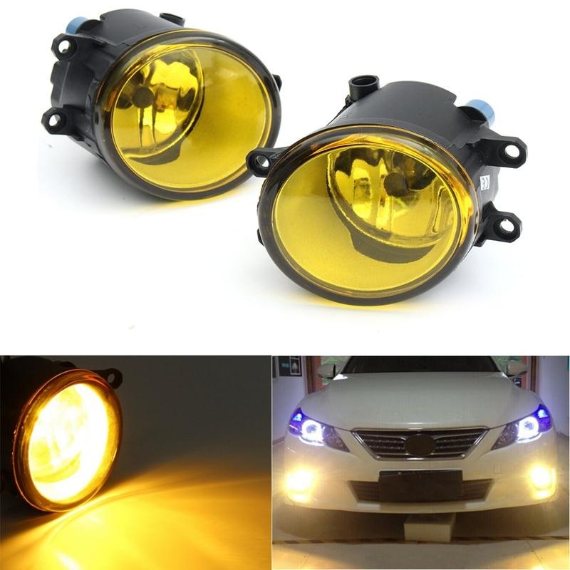 1 Pair Front Fog Light H11 55W Halogen Bulbs Fog Lights Lamp For Toyota/Camry/Carola/Vios/RAV4<br><br>Aliexpress