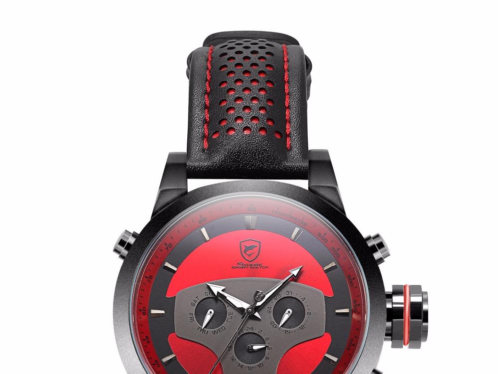 HTB1m UvSXXXXXaTapXXq6xXFXXX6 - Requiem Shark Sport Watch - Red SH207