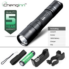 Chenglnn tactical flashlight Cree led IPX8 lanterna tatica diving Camping flashlight Self Defense linterna tactica 18650 torch