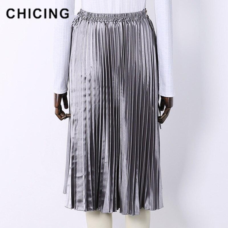 Detalle Comentarios Preguntas sobre Falda plisada de cintura alta ... 450fb45c47d3