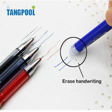 Pack of 12 Pcs 0.5mm Friction Erasable Gel Pen Office School Supplies Students Children Gift Free Shipping