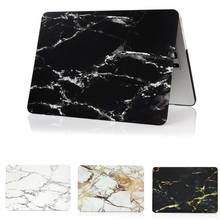 Fashion Marble Grain Matte Hard Case for Apple Mac MacBook Air 11 13 / Pro 13 15 / Retina 12 Shell Laptop Bag Case Cover