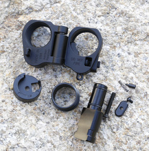 Hot Sale AR Folding Stock Adapter For M16/M4 SR25 Series GBB(AEG) For Scope,USPS To USA