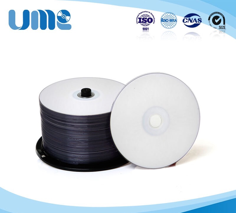 Wholesale 10 discs 4.7 GB A+ UME Blank Printable DVD+R Disc(China (Mainland))