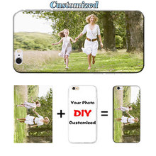 DIY Customed Logo Name Phone Case for Samsung Galaxy Express 2 G3815 / Win Pro G3812 Original Printed Selfie Baby Coque Capa