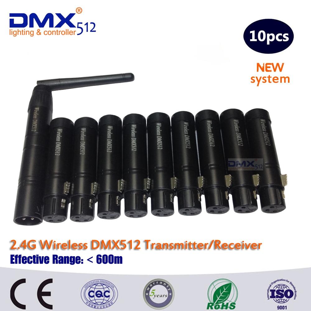 DHL Free Shipping 2.4Ghz wireless DMX 512 controller dmx512 transmitter<br><br>Aliexpress