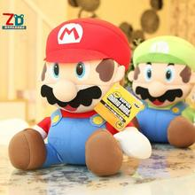 30cm Super Mario plush toys, foam particles doll Mary Brothers nanoparticles, toys wholesale Free Shipping