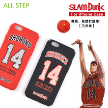ALL STEP Case For Iphone 6 6S 6Plus 6SPlus Japan Anime SLAM DUNK Basketball Polo Shirt Design Hard PC Phone Case Protect cover