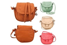 Women Lady PU Leather Vintage Retro Mini Handbag Tote Shoulder Crossbody Messenger Bags    BS88