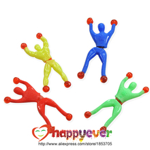 12pcs Sticky Wall Climbing Climber Men Kids Party Favors Supplies Pinata Fillers Birthday Gift Treat Bag Goody Bag Novel Gift