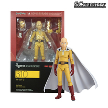 Anime Saitama One Punch Man Figma 310 PVC Action Figure Collectible Model Boy Girl Birthday Birthday Gift 14cm