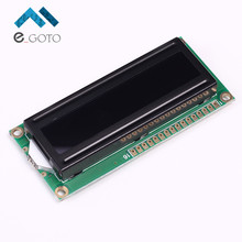 3.3V LCD1602A 16x2 Red Character Dot Matrix 1602 LCD Display Module Black Background Parallel Port(China)