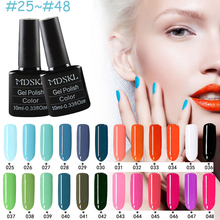 MDSKL 132 Colors Gel Nail Polish LED UV Gel Long-lasting Soak-off Gel Varnishes Beauty Gel Lacquer Nails Polish 10ML