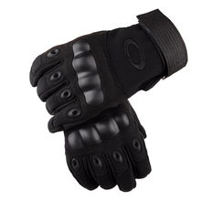 Tactical Gloves Sports Full Finger Carbon Fiber Thicker Combat Military Durable Glove Slip-resistant Combat Gear Tortoise S(China)