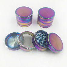Distinctive color Grinder Herb, grinding tobacco weeds, herbal medicine mill, smoking weed use convenient free delivery