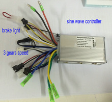 24v36v48v 250w350w 6 mosfet sinewave BLDC motor controller scooter ebike mtb tricycle moped wheelchair mobility conversion parts