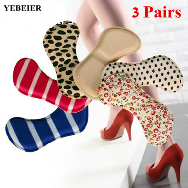 5pairs New 4D Man Shoe Heel Grips Women High Heel grip Foam Protect Comfortable  Pain Relieve Footcare Tool Shoe Accessories<br><br>Aliexpress