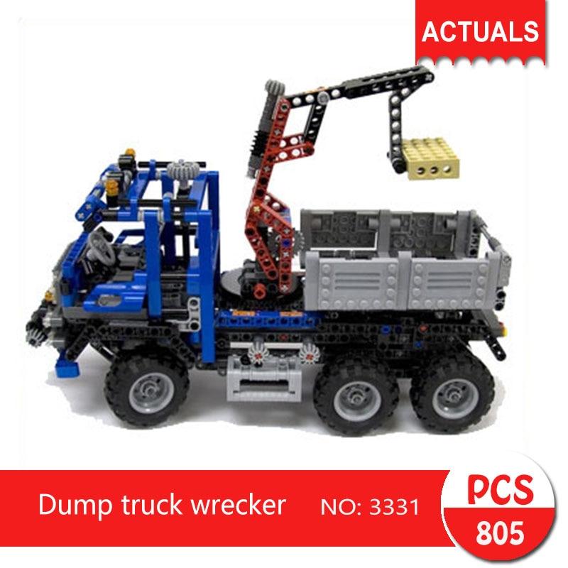 Decool 3331 805Pcs Technic series Dump truck wrecker  Building Blocks Bricks Toys For Children  Gift<br>
