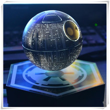 100% original new dhl free shipping Star Wars Death Star Magnetic Floating Levitating Wireless Bluetooth Speaker