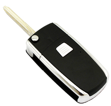 1 One Button Replacement Car Remote Folding Flip Key Shell Case For Fiat key blank fob NO chip