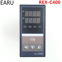 Buy PID Digital Temperature Controller REX-C400 Universal Input Relay SSR Output Automatic Packing Machine Thermostat Hot for $12.99 in AliExpress store