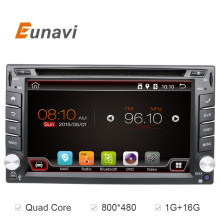 Universal 2 din Android 6.0 Car DVD player GPS+Wifi+Bluetooth+Radio+Quad Core+DDR3+Capacitive Touch Screen+car pc+aduio