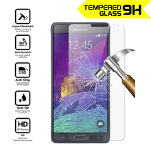 Tempered Glass Screen Protector For Samsung Galaxy Note 2 3 III N9005 Note 4 5 High Quality Wholesale Support