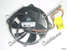 For Cooler Master A9225-22RB-3AN-F1 DF0922512RFMN E255988-CF 95x95x25mm 4Wire CPU Cooling Fan