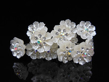 12pcs/lot Women Wedding Flower Crystal Rhinestone Hair Pins Bridal Party Prom Hair Clips Hair Jewelry accessories cheap