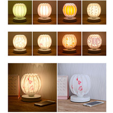 Night Light Bedside Lamp Romantic LED Lighting Fixture Christmas Decor Gifts(China)