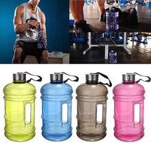 2.2L Fashion Portable Sports Kettle Plastic Outdoor Water Bottle Big Capacity For Gym Fitness Bicycle Camping Cycling Ho(China)