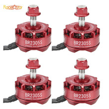 4X Racerstar 2305 BR2305S Fire Edition 2400KV 2-5S Brushless Motor For 210 220 250 300 Racing Frame Multirotor Parts Accessories(China)