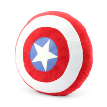 14''36cm The Avengers Toys Superheroes Captain America 2 Shields Plush Pillow Doll Toys Classic Toys