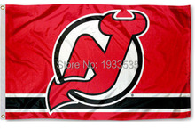 New Jersey Devils Large Outdoor Banner Flag 3' x 5' Fan Flag
