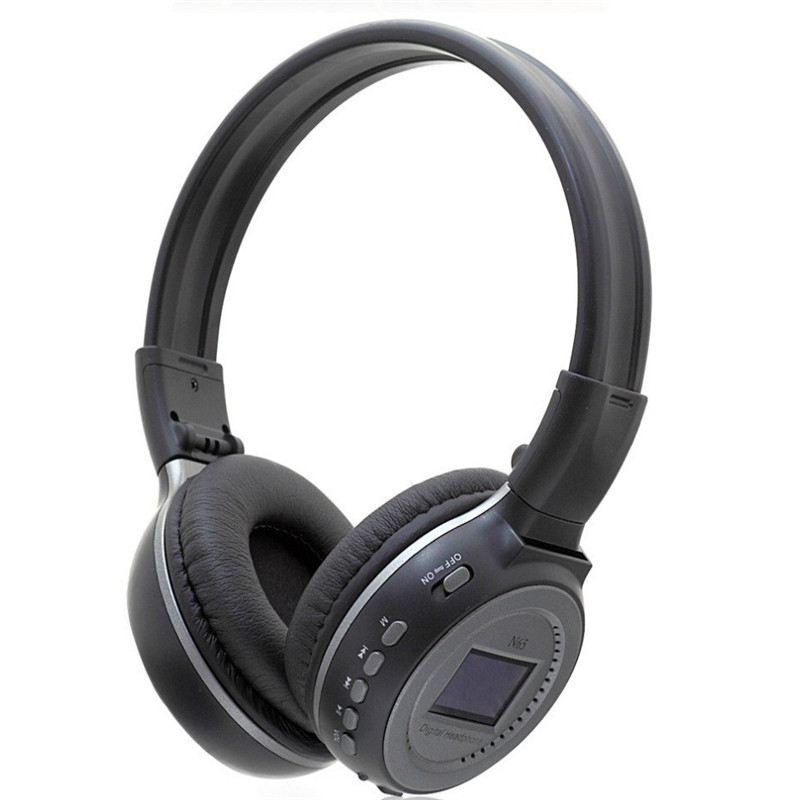 Original Zealot N65 Headphones 3.5mm SD Card MP3 Headphone Headset Gaming Digital Wireless Headphone N65 Stereo Headphone7Colors<br><br>Aliexpress