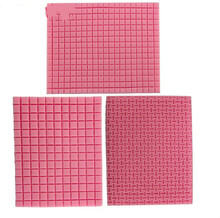 Small & Big Grid Texture Woven Bag Cookie Mat Fondant Mold Cupcake Biscuits Mould Silicone Sugar Mold Cake Decoration MK1787