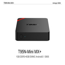 T95N-Mini MX (1G+8G) S905 Android 5.1 TV BOX drop shipping 0928(China)