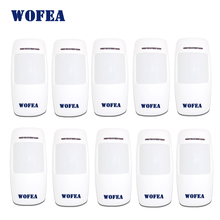 wofea wireless motion detector PIR infrared sensor 1527 Type 3V power for home security alarm 433mhz 10pcs/lot(China)
