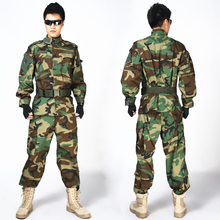 Wholesale Outdoor Combat Army Tactical Uniform Men Special Forces Training Uniform Hunting Shooting Paintball camouflage Sets