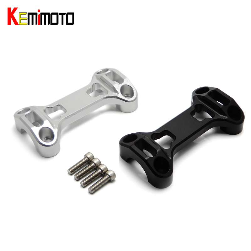 For BMW R1200GS CNC Handle Bar Handlebar Riser Top Clamps for BMW R 1200 GS GSA LC 2013-2016 after market<br>