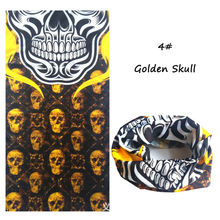 New Bandanas Riding Skull Bicycle Motorcycle Riding Variety Turban Magic Headband Multi Head Scarf Scarves