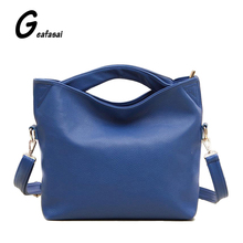blue black orange ladies leather small hobos totes crossbody messengers shoulder bags handbag for female feminina women lady