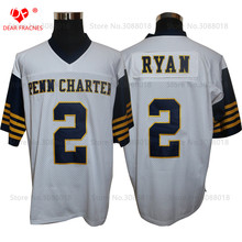 Cheap Shirt for Mens American Football Jerseys Matt Ryan 2 William Pen N Charter HS Throwback Jerseys Retro White Stitched(China)