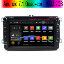 Android 7.1 Quad-core 2GB Car DVD Player For VW/Volkswagen/Passat/POLO/GOLF/Skoda/Seat B6 support 3G/WIFI GPS Navigation Radio
