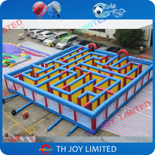 Free shipping!40ft x 40ft giant inflatable maze games inflatable puzzle game, inflatable hide and seek games