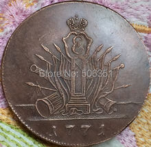 FREE SHIPPING wholesale 1771 russian 5 kopeks copper coins copy