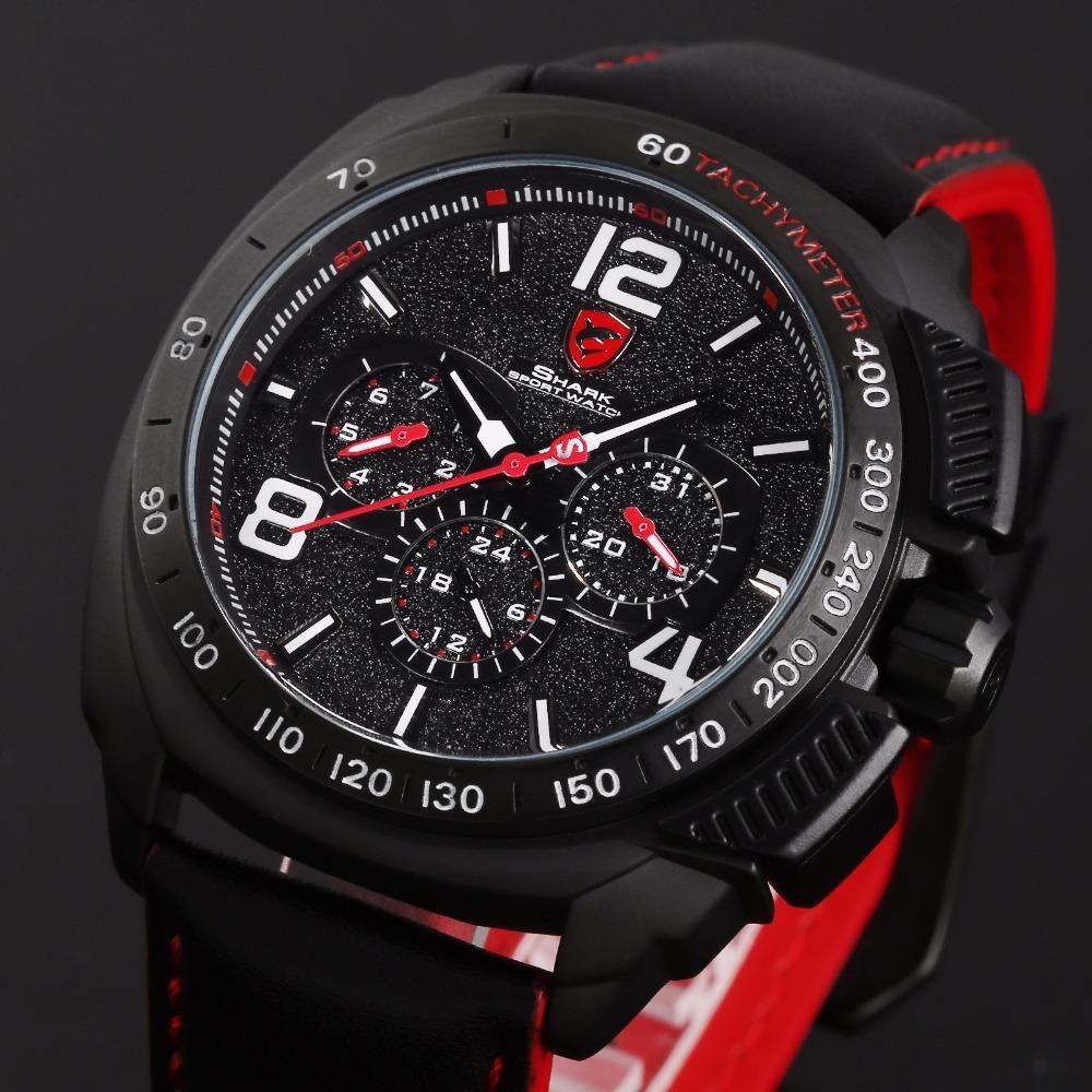 HTB1mamFRFXXXXXeaXXXq6xXFXXX1 - Tiger Shark 3rd Generation Sport Watch - Red SH417